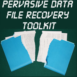 Pervasive Data File Recovery Toolkit